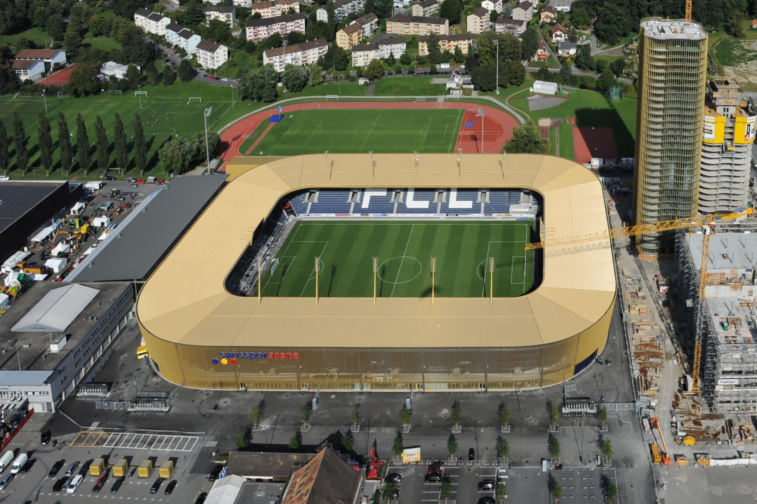 Wohntürme 1+2 Swisspor Arena Allmend